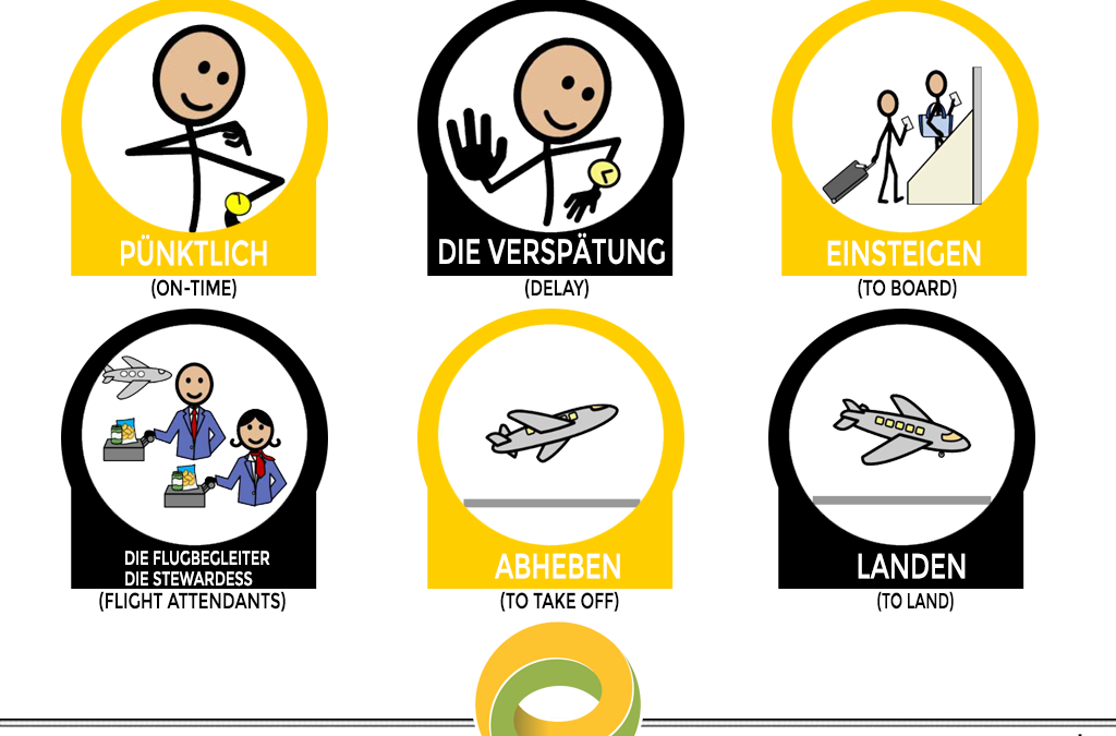 Airport Vocabulary in German